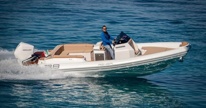 Rental yacht Le Lavandou - Renier Renier R8 Tourer on SamBoat