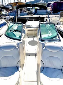 Rental Motorboat in Golfe-Juan - Monterey 268 ss