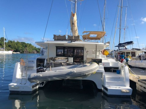 Rental Catamaran in Scrub Island - Fountaine Pajot Saona 47