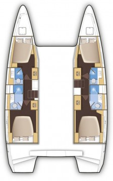 Hire Catamaran with or without skipper Lagoon Nassau