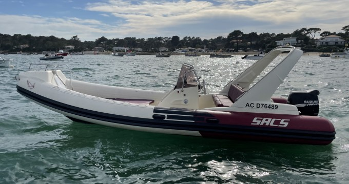 Rental RIB in Lège-Cap-Ferret - Sacs Sacs S 680 Ghost