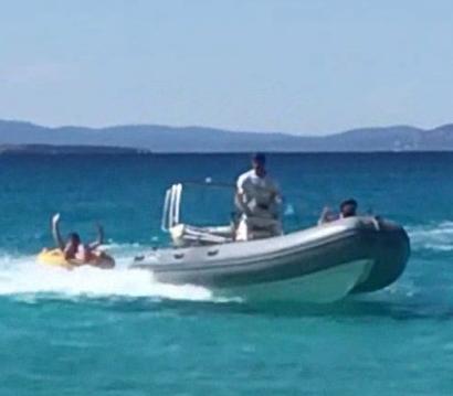 Hire RIB with or without skipper Bwa Ibiza Island
