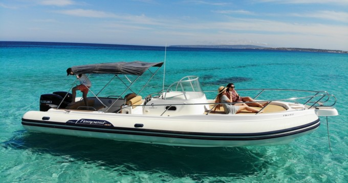 Rental RIB in Ibiza Island - Capelli Tempest 900