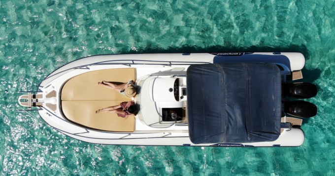 Hire RIB with or without skipper Capelli Ibiza Island