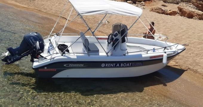 Boat rental Poseidon Bluwater530 in Chania Port on Samboat