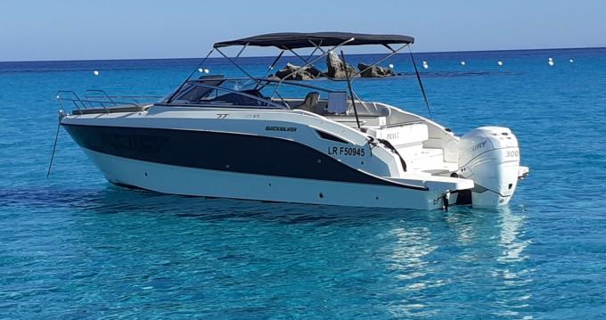 Boat rental Quicksilver Activ 805 Cruiser in Porto-Vecchio on Samboat