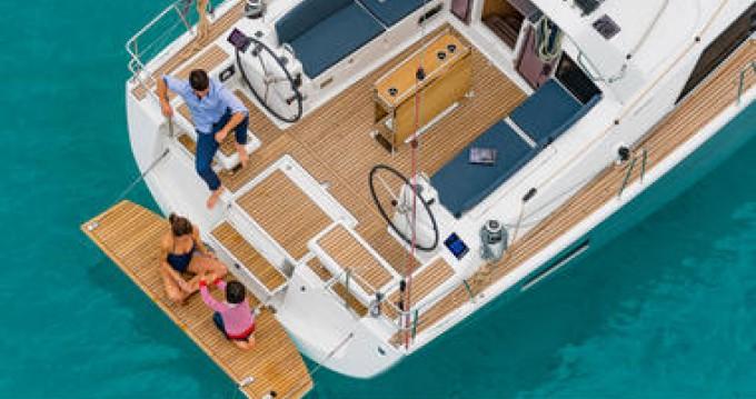 Boat rental Toulon cheap Oceanis 41.1