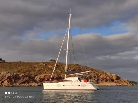 Rental Catamaran in Larmor-Plage - Lagoon Lagoon 380