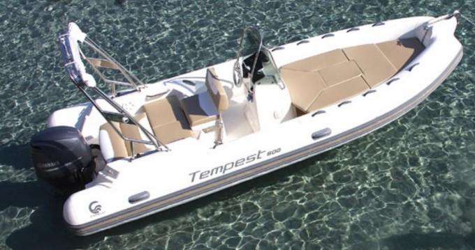 Boat rental Mandelieu-la-Napoule cheap Tempest 600