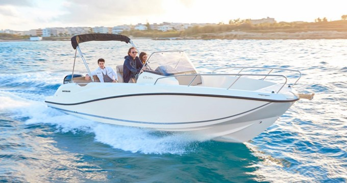 Quicksilver Activ 675 Open between personal and professional Puerto Campomanes Greenwich