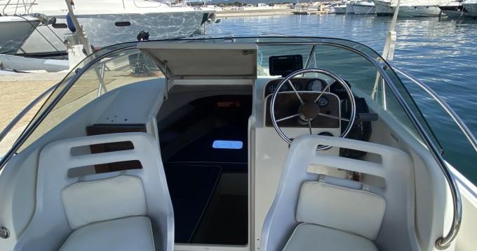 Boat rental Hyères cheap Cap Camarat 615 WA