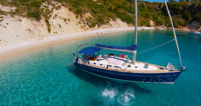 Bénéteau Oceanis 473 Clipper between personal and professional Lefkas Marina