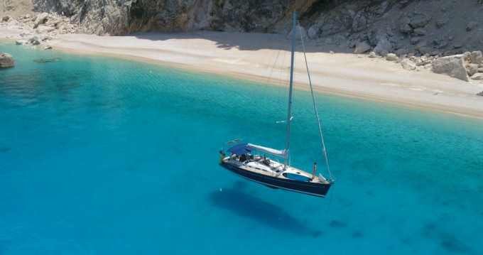 Boat rental Lefkas Marina cheap Oceanis 473 Clipper