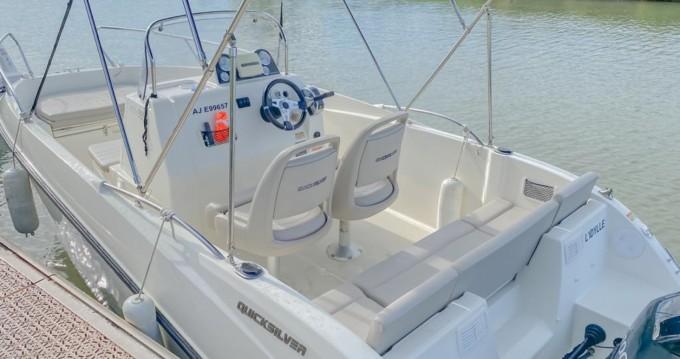 Boat rental Palavas-les-Flots cheap Activ 555 Open