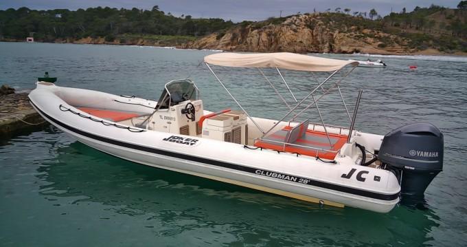 Boat rental Joker Boat Clubman 28 in Hyères on Samboat