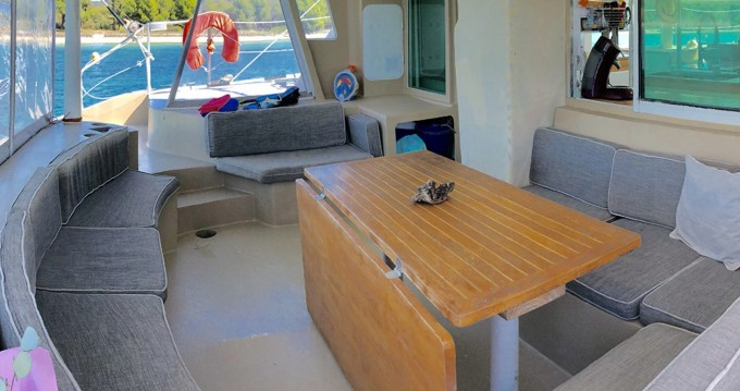 Hire Catamaran with or without skipper VISAGE Le Marin
