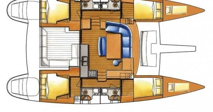 Rental yacht Le Marin - Lagoon Lagoon 450 Sport Top on SamBoat
