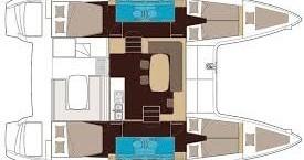 Rental yacht Le Marin - Lagoon Lagoon 40 on SamBoat
