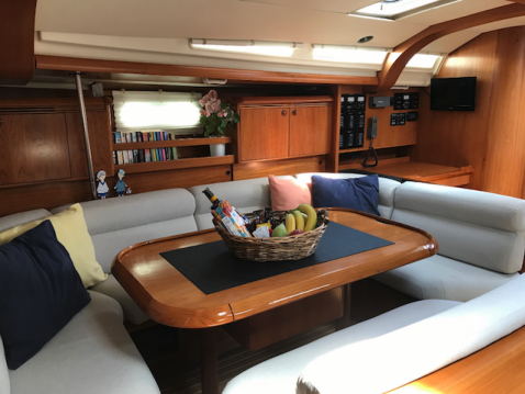 Rental Sailboat in Gouvia - Jeanneau Sun Odyssey 49