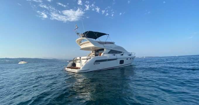 Hire Motorboat with or without skipper Fairline Mandelieu-la-Napoule