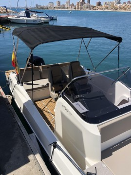 Hire Motorboat with or without skipper Quicksilver Alicante