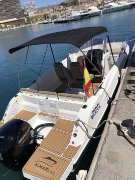 Rental Motorboat in Alicante - Quicksilver Activ 675 Open