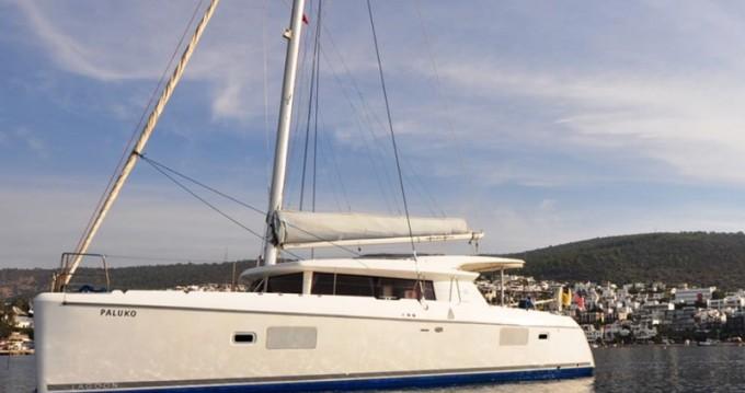 Catamaran for rent Bodrum at the best price