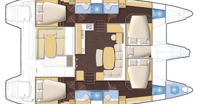 Rental yacht Bodrum - Lagoon Lagoon 421 on SamBoat