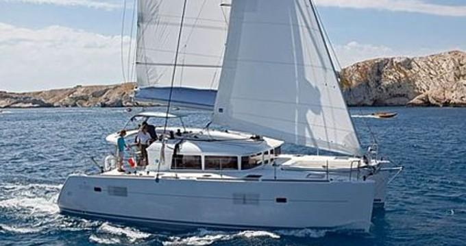 Boat rental Bodrum cheap Lagoon 400