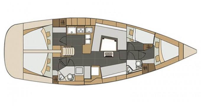 Boat rental Elan Impression 45 in Kórfos on Samboat