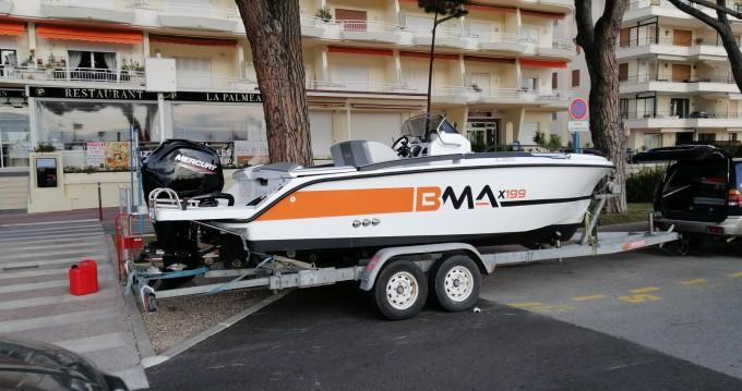 Rent a BMA BMA X199 Mandelieu-la-Napoule