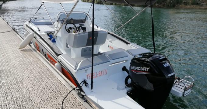 Boat rental Mandelieu-la-Napoule cheap BMA X199