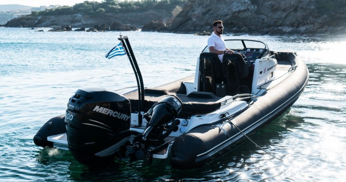 Rental RIB Next Boats with a permit