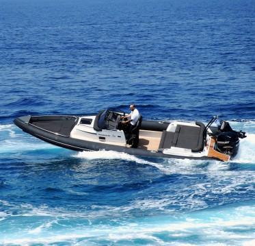 Boat rental Milos cheap Shearwater