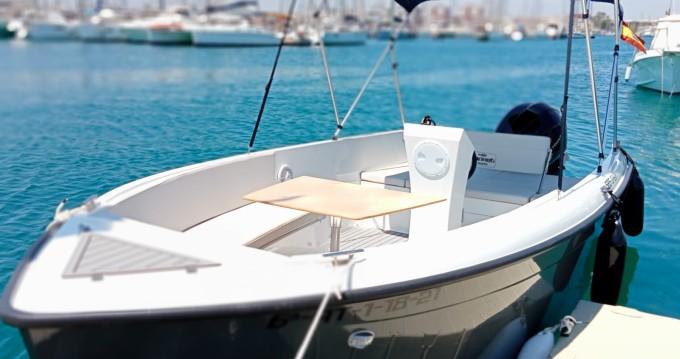 Rental Motorboat in Torrevieja - Darekco MARETI 585 OPEN