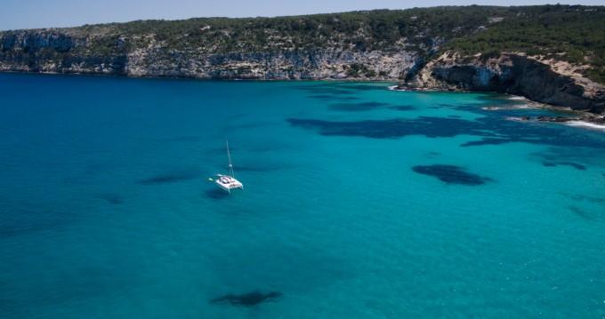 Hire Catamaran with or without skipper Nautitech La Savina