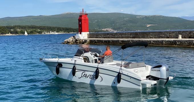 Boat rental Saver 750 WA in Krk on Samboat