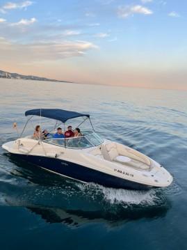 Motorboat for rent Puerto Deportivo de Marbella at the best price