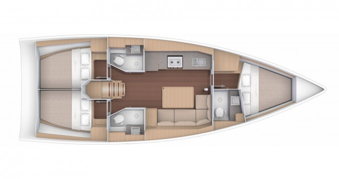 Boat rental Bocca di Magra cheap Dufour 390 GL