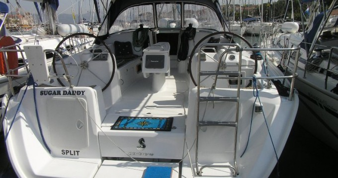 Bénéteau Cyclades 43.4 between personal and professional Trogir