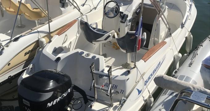 Rental Motorboat in Mandelieu-la-Napoule - Quicksilver Quicksilver 555 Commander
