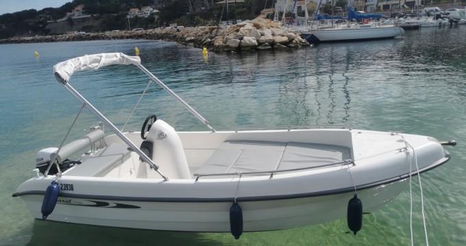 Rental yacht Saint-Cyr-sur-Mer - Karel V160 on SamBoat