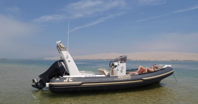 Rental RIB in Port d'Arcachon - Joker Boat Clubman 22