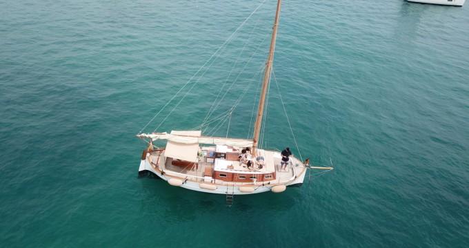 Rental Sailboat Poseidon with a permit