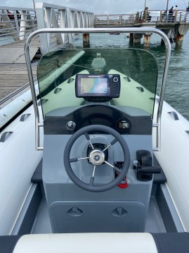 Rental RIB in Le Canon - 3D Tender Lux 635
