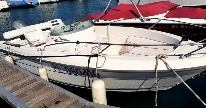 Rent a Cap-Ferret 550 sun deck Trébeurden