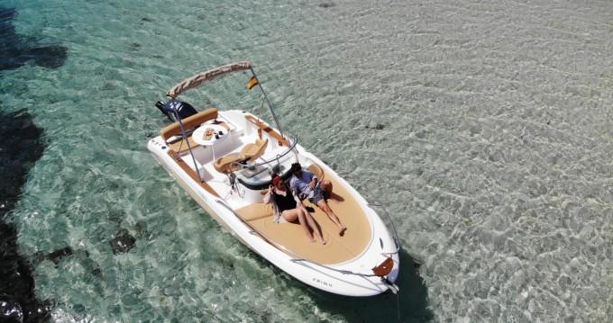 Rental Motorboat in Ibiza Island - Sessa Marine Key Largo 20