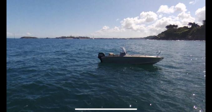 Boat rental Dinard cheap Fox 485