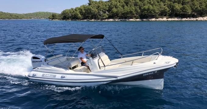 Boat rental ZAR CRO White 65 in Tisno on Samboat