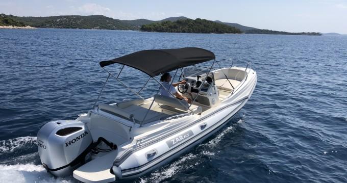 Rental yacht Tisno - ZAR CRO White 65 on SamBoat